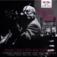 VIOLIN CONCERTOS AND SONATAS: MILESTONES OF A VIOLIN LEGEND [미샤 엘만: 명연집 - 협주곡과 소나타 모음]