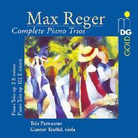 MAX REGER - COMPLETE PIANO TRIOS/ TRIO PARNASSUS [레거: 피아노 삼중주 전곡]