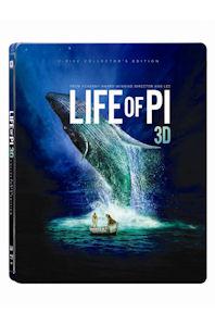 라이프 오브 파이 3D+2D [렌티큘러 스틸북 한정판] [LIFE OF PI]