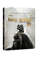 [한정판 스틸북 할인전] 킹 아서: 제왕의 검 3D+2D [KING ARTHUR: LEGEND OF THE SWORD]