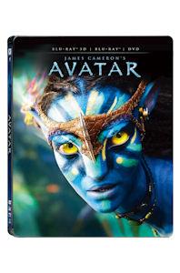 아바타: 3D BD+DVD [스틸북 한정판] [AVATAR]