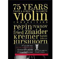 75 YEARS QUEEN ELISABETH COMPITITION: VIOLIN [4CD+BOOK] [퀸 엘리자베스 콩쿠르 75주년 기념음반: 바이올린]