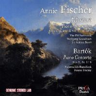 PIANO CONCERTOS/ ANNIE FISCHER, FERENC FRICSAY, ADRIAN BOULT, WOLFGANG SAWALLISCH [모차르트 & 바르톡: 피아노 협주곡]