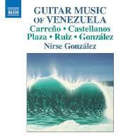 VARIOUS - GUITAR MUSIC OF VENEZUELA/ NIRSE GONZALEZ [니르세 곤살레스: 베네수엘라의 기타 음악 작품집]