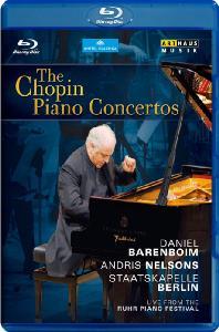 PIANO CONCERTOS/ DANIEL BARENBOIM, <!HS>ANDRIS<!HE> NELSONS [블루레이 전용플레이어 사용]