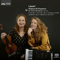 LOVE/ HUIJNEN & HOPMAN [SACD HYBRID] [바이올린과 아코디언으로 듣는 음악 - 하위넌,호프만]