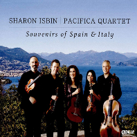 SOUVENIRS OF SPAIN & ITALY/ PACIFICA QUARTET [스페인과 이탈리아의 추억: 기타 오중주 - 샤론 이스빈, 파시피카 사중주단]