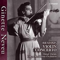 VIOLIN CONCERTO/ GINETTE NEVEU, ANTAL DORATI [브람스: 바이올린 협주곡 - 지네트 느뵈, 도라티]