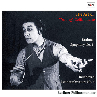 THE ART OF YOUNG CELIBIDACHE: SYMPHONY NO.4 & LEONORE OVERTURE NO.3 [브람스 교향곡 4번, 베토벤 레오노레 서곡 3번 - 첼리비다케]