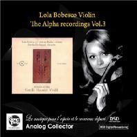 THE ALPHA RECORDINGS VOL.3: SONATES EN TRIO [롤라 보베스코: 소나타와 트리오] [한정반]