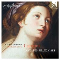 CANTATES FRANCAISES/ LES ARTS FLORISSANTS, WILLIAM CHRISTIE [윌리엄 크리스티 & 레자르 플로리상: 캉프라 - 프랑스의 칸타타집]