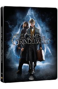 신비한 동물들과 그린델왈드의 범죄 4K UHD+BD [스틸북 한정판] [FANTASTIC BEASTS: THE CRIMES OF GRINDELWALD]