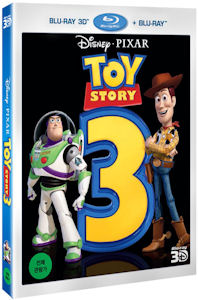 토이 스토리 3: 2D+3D 콤보팩 [TOY STORY 3] [13년 6월 월트디즈니 블루레이 프로모션]