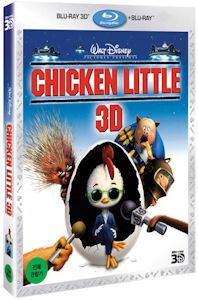 치킨 리틀: 2D+3D 콤보팩 [CHICKEN LITTLE] [13년 6월 월트디즈니 블루레이 프로모션]