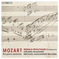 COMPLETE PIANO CONCERTOS/ RONALD BRAUTIGAM, MICHAEL ALEXANDER WILLENS [SACD HYBRID] [모차르트: 피아노 협주곡 전곡 - 로날드 브라우티함]