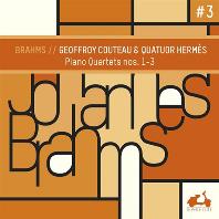 PIANO QUARTETS NOS.1-3/ GEOFFROY COUTEAU, QUATUOR HERMES [브람스: 피아노 사중주 1~3번 - 에르메스 사중주단, 죠프로와 쿠토]