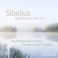 SYMPHONIES NOS.1 & 3/ OWAIN ARWEL HUGHES [시벨리우스: 교향곡 1, 3번 - 오웨인 아르웰 휴즈]