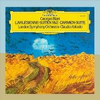 GEORGES BIZET - L`ARLESIENNE SUITES/ CARMEN SUITE/ CLAUDIO ABBADO [GRANDPRIX]