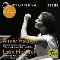 SCHUMANN & BEETHOVEN: PIANO CONCERTOS - LUCERNE FESTIVAL 1960 [애니 피셔 & 레온 플라이셔: 슈만, 베토벤 피아노협주곡]