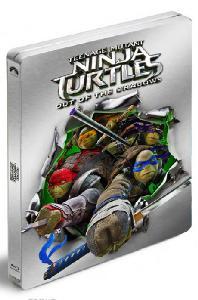 닌자터틀: 어둠의히어로 3D+2D [스틸북 한정판] [TEENAGE MUTANT NINJA TURTLES: OUT OF THE SHADOWS]
