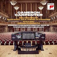 RHAPSODY ON A THEME OF PAGANINI & ORGAN CONCERTO/ CHRISTOPH ESCHENBACH [라흐마니노프: 파가니니 주제에 의한 광시곡 & 플랑 오르간 협주곡 - 카메론 카펜터]