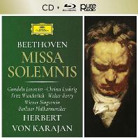 MISSA SOLEMNIS/ HERBERT VON KARAJAN [CD+BDA] [베토벤: 장엄미사 - 카라얀]