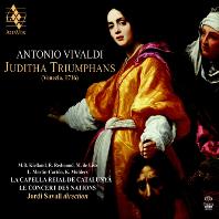 JUDITHA TRIUMPHANS/ JORDI SAVALL [SACD HYBRID] [비발디: 오라토리오 <승리하는 유디타> | 조르디 사발]
