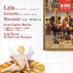 EDOUARD LALO/ PABLO SARASATE/ JULES MASSENET - SYMPHONY ESPAGNOLE OP.21 ETC/ MUTTER/ OZAWA/ KARAJAN (ENCORE)