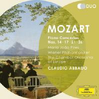 PIANO CONCERTOS NOS.14,17,21,26/ CLAUDIO ABBADO