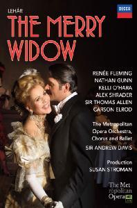 THE MERRY WIDOW/ RENEE FLEMING, ANDREW DAVIS [레하르: 유쾌한 미망인 - 르네 플레밍]