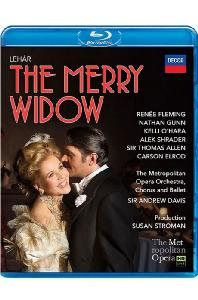 THE MERRY WIDOW/ RENEE FLEMING, ANDREW DAVIS [레하르: 유쾌한 미망인]