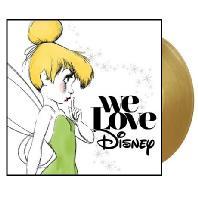 WE LOVE DISNEY [DELUXE EDITION] [GOLD LP] [디즈니 히트곡 리메이크 컴필레이션 앨범]