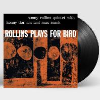 소니 롤린스 퀸텟(SONNY ROLLINS QUINTET) - ROLLINS PLAYS FOR BIRD [LP][수입]*