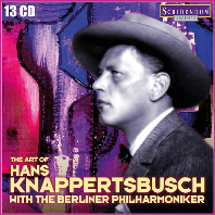 THE ART OF HANS KNAPPERTSBUSCH WITH THE BERLINER PHILHARMONIKER [한스 크나퍼츠부쉬의 예술 - 베를린 필하모닉 오케스트라 편]