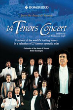 14 TENORS CONCERT/ ANTON GUADAGNO [14 테너 콘서트]