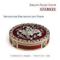 SONATAS FOR FORTEPIANO AND VIOLIN/ ELS BIESEMANS, MERET LUTHI [슈테르켈: 바이올린과 포르테피아노를 위한 소나타]