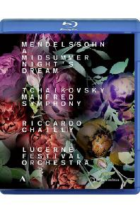 MIDSUMMER NIGHT`S DREAM & MANFRED SYMPHONY/ RICCARDO CHAILLY [멘델스존: 한여름밤의 꿈 & 차이코프스키: 만프레드 - 샤이]