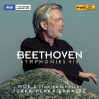 SYMPHONIES 4 & 5/ JUKKA-PEKKA SARASTE [베토벤: 교향곡 4, 5번 - 사라스테]