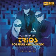 로렘, 크럼, 마르티누, 사리아호: 플루트, 첼로, 피아노를 위한 트리오 - 트리오 비크