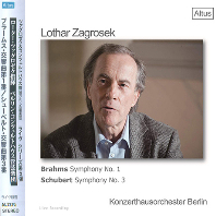 SYMPHONY NO.1 & NO.3/ LOTHAR ZAGROSEK [브람스: 교향곡 1번 & 슈베르트: 교향곡 - 로터 자그로섹]
