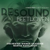 "RESOUND VOL.8 - SYMPHONIES NOS.5 & 6 ""PASTORAL""/ MARTIN HASELBOCK [리사운드 베토벤 8집 - 교향곡 5번<운명>,  6번<전원>| 하젤뵈크]"
