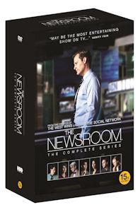 뉴스룸 시즌 1-3 풀 박스세트 [한정판] [THE NEWSROOM: THE COMPLETE SERIES] [18년 4월 워너 가격인하 프로모션]