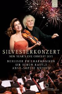 SILVESTERKONZERT: NEW YEAR'S EVE CONCERT 2015/ ANNE-SOPHIE MUTTER, SIMON RATTLE [베를린 필하모니 2015년 송년음악회]