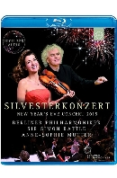 SILVESTERKONZERT: NEW YEAR'S EVE CONCERT 2015/ ANNE-SOPHIE MUTTER, SIMON RATTLE [베를린 필하모니 2015년 송년음악회 - 무터, 래틀]