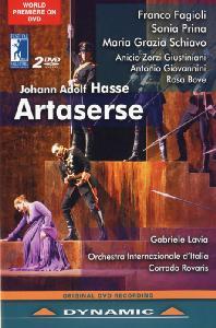 ARTASERSE/ CORRADO ROVARIS [하세: 아르타세르세 - 한글자막]