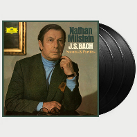SONATAS & PARTITAS/ NATHAN MILSTEIN [바흐: 무반주 바이올린 소나타와 파르티타 - 나탄 밀스타인] [한정반] [180G LP]