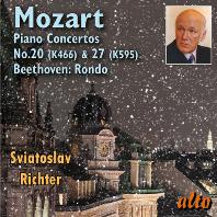 PIANO CONCERTO NOS.20 & 27, RONDO/ SVIATOSLAV RICHTER [모차르트: 피아노 협주곡 20, 27번 & 베토벤: 론도 - 스비아토슬라브 리히터]