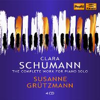 THE COMPLETE WORK FOR PIANO SOLO/ SUSANNE GRUTZMANN [클라라 슈만: 피아노 작품 전집 - 주자네 그뤼츠만]