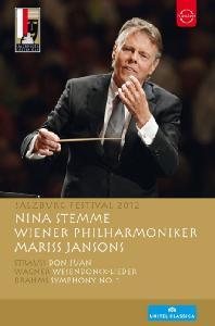 BRAHMS SYMPHONY NO.1: SALZBURG FESTIVAL 2012/ MARISS JANSONS [2012년 잘츠부르크 페스티벌 실황: 브람스: 교향곡 1번 외]