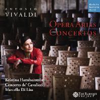 OPERA ARIAS AND CONCERTOS/ KRISTINA HAMMARSTROM, MARCELLO DI LISA [비발디: 오페라 아리아와 협주곡]